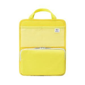 LIHIT LAB.<リヒトラブ> SMART FIT<スマート フィット> bright label スタンドポケット(タテ型) A5 イエロー A7667-5|econvecoco