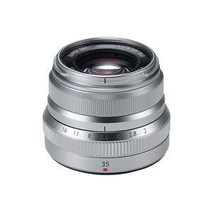 富士フイルム フジノンレンズ XF35MMF2 R WR シルバー XFレンズ 単焦点 標準レンズ