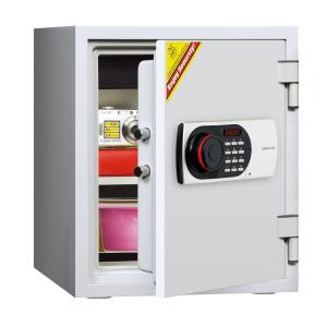 デジタルテンキー式耐火・耐水金庫 125EN88WR A4対応 HOME SAFE<家庭用耐火金庫> 1時間耐火 容量25L ディプロマット・ジャパン|econvecoco