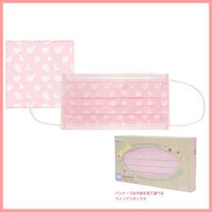 不織布マスク2 ローズ柄 BOXタイプ 女性用 603-7029 サンタン|econvecoco