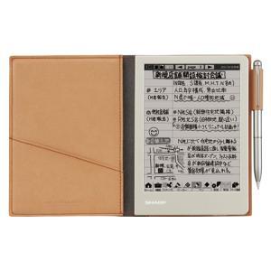 シャープ 電子ノート (ブラウン系) WG-S30-T ノート3000ページ+スケジュール帳4年分 econvecoco