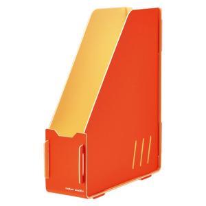 キングジム color units「カラーユニッツ」 マガジンボックス オレンジ 7521オレ KINGJIM|econvecoco