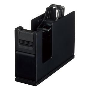 コクヨ テープカッターカルカットスチールタイプ黒 T-SM111D econvecoco