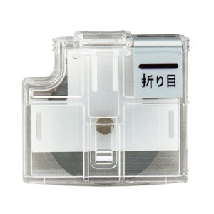 プラス(PLUS) スライドカッター ハンブンコ 専用替刃 折り目 PK-800H3 26-476|econvecoco