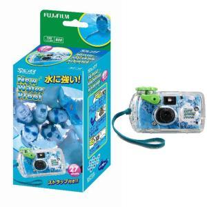 メーカー取寄せ商品 FUJIFILM<富士フイルム> インスタントカメラ 写ルンです ニューウォータ...