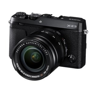 FUJIFILM<富士フイルム> Xシリーズデジタルカメラ FUJIFILM X-E3 / XF18-55mmF2.8-4 R LM OISレンズキット ブラック|econvecoco