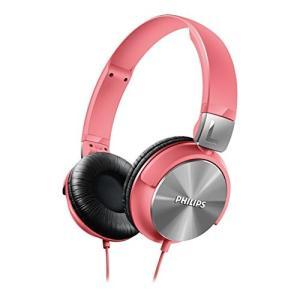 PHILIPS ヘッドホン 密閉型/オンイヤー/折りたたみ式 ピンク SHL3160PK【国内正規品...