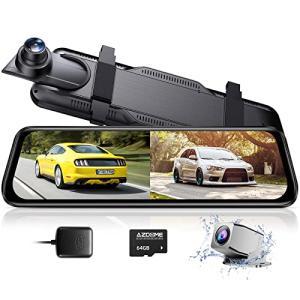 【2019年最新版】ドライブレコーダー ミラー型 前後カメラ 前後1080P 32GBカード付属 SONYセンサー/レン・・・|ecoplanet-yokohama