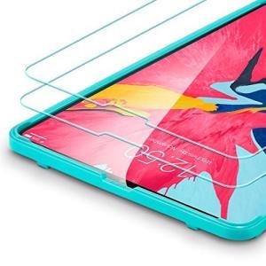 ESR iPad Pro 11 ガラスフィルム Face ID対応 オリジナルなタッチ感 旭硝子 高...