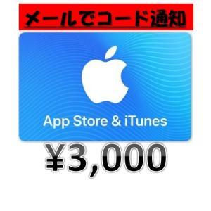 土日祝でも24時間以内にメールで通知!iTunesカード3000円分!
