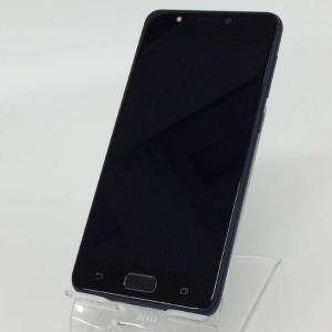【中古】Zenfone4 MAX 本体 SIMフリー 32GB ネイビー rm-03929