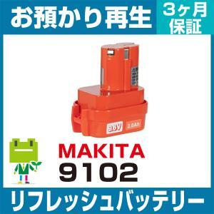 マキタ 9102 リフレッシュバッテリー|ecosol