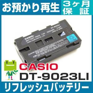 カシオ DT-9023LI リフレッシュバッテリー|ecosol