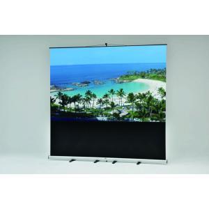 VISPRO モバイルスクリーン 新商品 VMR-80 80インチ プロジェクタースクリーン