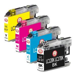 ブラザー インク LC12 LC17 互換 プリンターインク LC12-4PK LC17-4PK 選べる4個*セット ゆうパケ|ecotte-shop