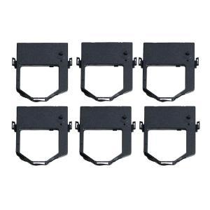 JFQC0005205 汎用インクリボンカセット 黒 6個 東芝テック TEC OA-11 / OA-100 / SJ-1シリーズ 事務コン|ecotte-shop