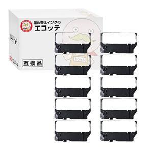 IR-82 シチズン 用 汎用インクリボンカセット 黒 10個 CBM-820