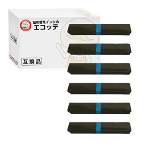 兼松エレクトロニクス 汎用サブリボン DPK24NS 黒6個 純正カセット用 KEL 6653