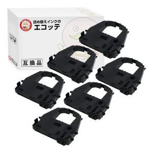 DPK3800 OAR-FM-19S 0325220 CA02374-C202 富士通 用 汎用インクリボンカセット 黒 6個 F6687PT F7541 F7541PR22 F7541PR81 F7541PS21 F7541PS81 F7547PR13|ecotte-shop