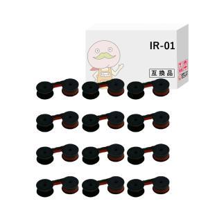 IR-01 OAR-SP3-1NW シチズン 用 汎用スプールリボン 黒赤 12個 CBM 510 CBM 520 CBM 530 CBM 531|ecotte-shop