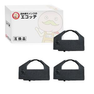 VP4300LRC OAR-EP-43 エプソン 用 汎用インクリボンカセット 黒 2個 VP-4300 VP-4300N VP-430C4 VP-430NC4 VP-43KSM|ecotte-shop