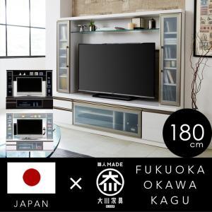 テレビ台 テレビボード ハイタイプ 180 木製 ブラック ...