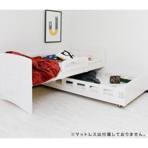 親子ベッド 二段ベッド シングル フレームのみ 木製 パイン 天然木 カントリー調 セール ecsanwa 10