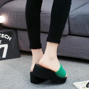 サンダル レディースシューズ  靴  スリッパ  厚底  ウェッジソール 履きやすい コンフォートサンダル  オフィス 美脚|ecshop|07