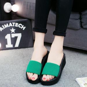 サンダル レディースシューズ  靴  スリッパ  厚底  ウェッジソール 履きやすい コンフォートサンダル  オフィス 美脚|ecshop|08