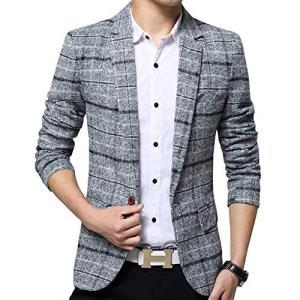 テーラードジャケット ジャケット メンズ おおきいサイズ スーツ ビジネス カジュアル 紳士 スリム
