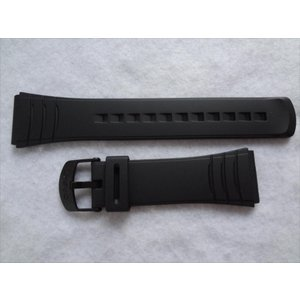 CASIOデータバンク純正バンドDBC-32-1A, DBC-32C-9A,DBC-32C-1B用 22mm 腕時計ベルト|ecwide