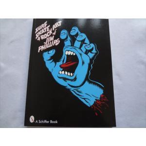 洋書Surf,Skate&Rock Art of Jim Phillipsジムフィリップ本 発送:ゆうパック、宅急便のみ(初期設定クロネコDM便164円は不可)|ecwide