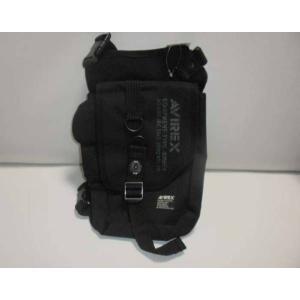 AVIREX EAGLE ミリタリー 2WAYレッグバッグ ブラック 黒  送料:日本郵便定形外で510円|ecwide