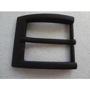 40mm 巾用バックル レザーベルト作成に 黒 黒色 PVDブラック|ecwide