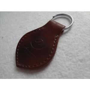 Ashland ホーウィンHorween シェル コードバン Key Fob キーホルダー Color #8 Marbled Shell Cordovan|ecwide