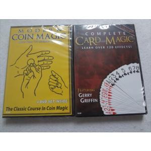 手品 DVD Complete Card Magic & Modern Coin Magic カードマジック コインマジック|ecwide