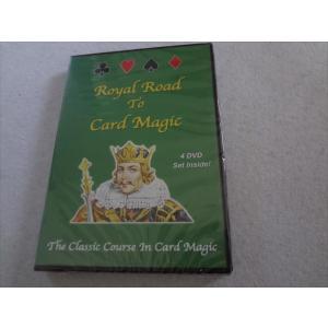 手品 DVD Royal Road Card Magic カードマジック|ecwide