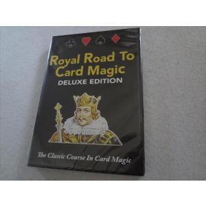 手品 DVD Royal Road Card Magic Deluxe Edition カードマジック|ecwide
