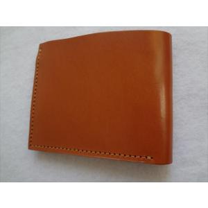 財布 ウォレット 小銭入れあり カード入れ3か所  札入れ1か所 カラー:Tan 茶色系|ecwide