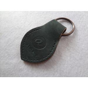 Ashland ホーウィン シェル コードバン Key Fob キーホルダー リバース Reverse Black Shell Cordovan|ecwide