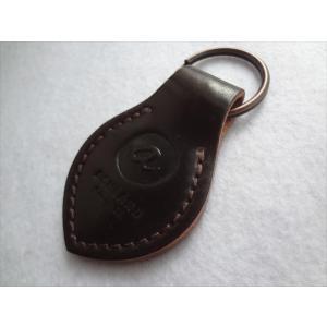 Ashland ホーウィン シェル コードバン Key Fob キーホルダー Color #8 Horween Shell Cordovan|ecwide