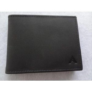 ALL-ETT 極薄財布 カード 札入れ Leather Sport Wallet 黒色  レザー ウォレット アメリカ製|ecwide