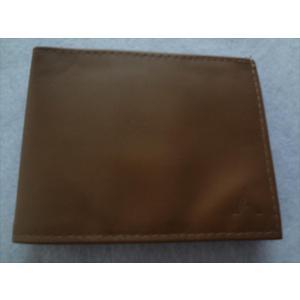 ALL-ETT 極薄財布 カード 札入れ Leather Sport Wallet 茶色(キャメル)  レザー ウォレット アメリカ製|ecwide