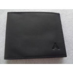ALL-ETT 極薄財布 カード 札入れ Leather Sport Wallet ネイビー Navy  レザー ウォレット アメリカ製|ecwide