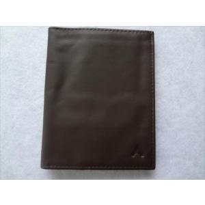 ALL-ETT 極薄財布 カード 札入れ Leather Original Wallet 茶色 レザー ウォレット アメリカ製|ecwide