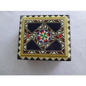 スペイン グラナダ製 タラセア 寄木細工 箱 ケース 螺鈿細工 ジュエリーボックス TARACEA 伝統工芸品|ecwide
