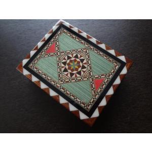スペイン グラナダ製 タラセア 寄木細工 箱 ケース 螺鈿細工 ジュエリーボックス TARACEA 伝統工芸品 2|ecwide