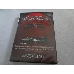 手品 DVD reinCARDnation カード マジック Kris Nevling|ecwide