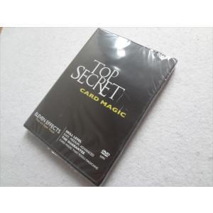 手品 DVD Top Secret Card Magic カード マジック Kris Nevling|ecwide