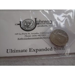 johnson products Ultimate Expanded Shell コイン 手品 マジック|ecwide